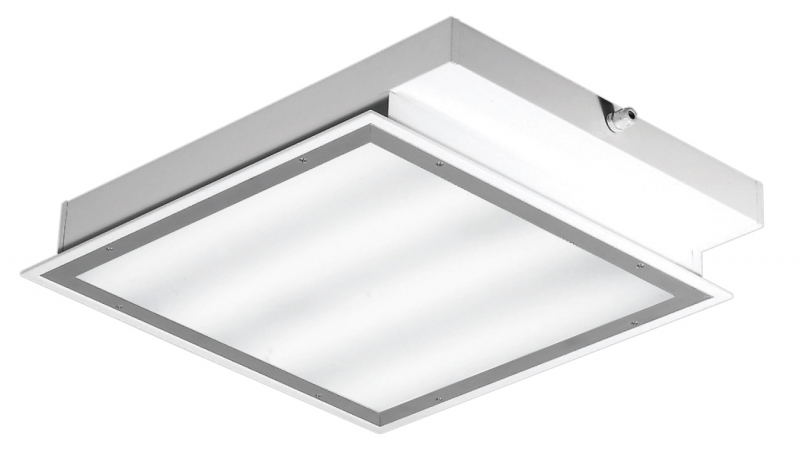 Plafoniere Controsoffitto Led : Rc luce produzione illuminazione civile industriale led proiettori